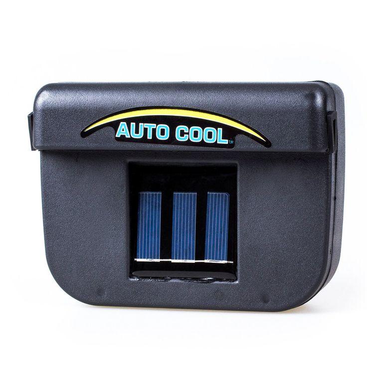 Solar Powered Window Fan Ventilator For Your Car