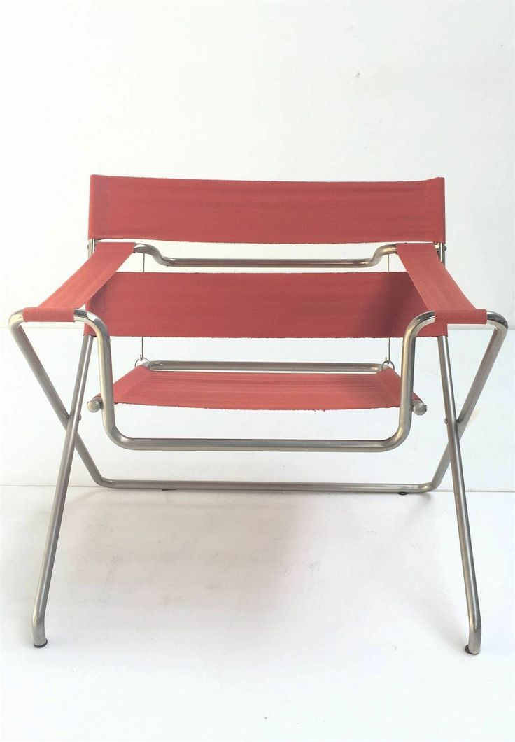 Marcel Breuer D4 Foldable Easy Chair Purchased in 1968, Tecta, Germany. Sold by 1stdibs.com