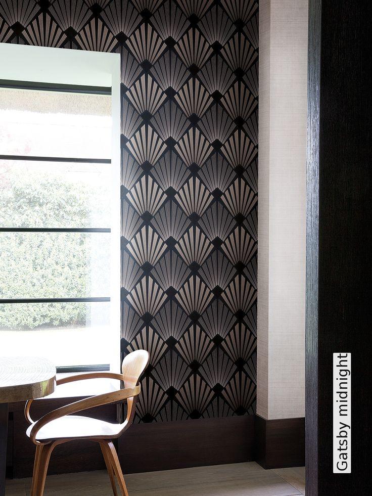 Die besten 25+ Ornament tapete Ideen auf Pinterest Tapeten - wohnzimmer tapete grun