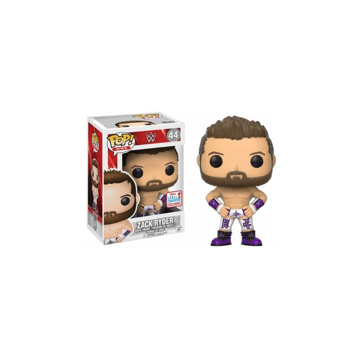 Funko Pop! WWE Zack Ryder #44 (2017 Fall Convention Exclusive). Funko Pop! WWE #44 Zack Ryder (2017 Fall Convention Exclusive).