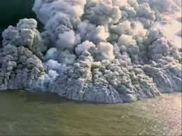 Pyroclastic flow will destroy nearly everything in its path. With rock fragments ranging in size from ash to boulders traveling across the ground at speeds greater than 80 km per hour, pyroclastic flows knock down, shatter, bury or carry away nearly all objects and structures in their way. The extreme temperatures of rocks and gas inside pyroclastic flows, between 200°C and 700°C, can cause combustible material to burn, especially petroleum products, wood, vegetation, and houses. -- Samuel…