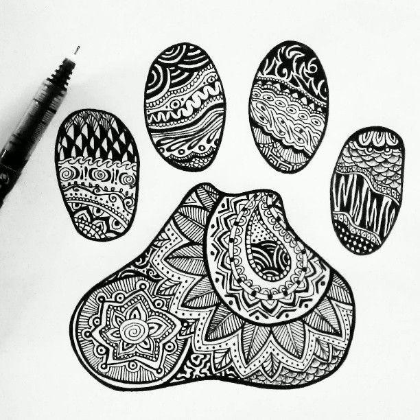 Paw Print by Emilymeganx.deviantart.com on @deviantART