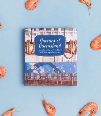 Flavours of Queensland • Uncover the state's cuisine from north to south. From hidden laneway bars to elusive fine dining restaurants it features beautiful photography, uber chic illustrations by local artist Anna Dance, signature recipes, restaurants and bars – all coming together in this breath-taking adventure discovering the Flavours of Queensland.
