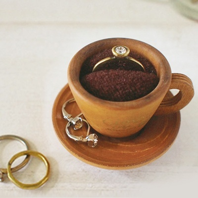 Ring holderTeas Time, Projects Rings, Rings Cases, Lil Things, Rings Holders, Great Ideas