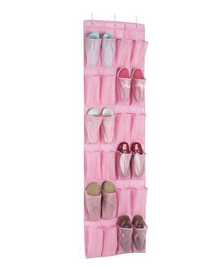 Whitmor Pink Over-the-Door Shoe Organizer   zulily