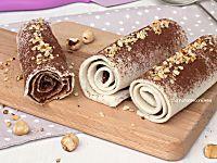 Rotolini alla Nutella | Ricetta dolce senza cottura