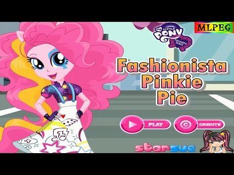 My Little Pony Equestria Girls Fashionista Pinkie Pie Dress Up Game