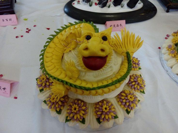 Food cake in Yantai, China