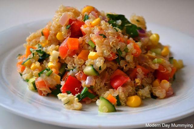 Simple Quinoa Salad | food | Pinterest