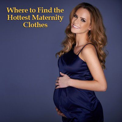 Where to Find The Hottest Maternity Clothes #maternity #pregnant #pregnancy #fashion