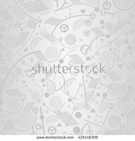 2016. Europe Championship Soccer wallpaper. European Championship Football background vector illustration. Soccer grey color pattern. Abstract soccer banner. For Art, Print, Web design. Sport