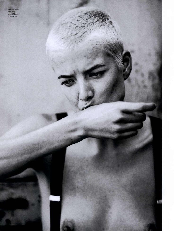 Agyness Deyn | Photography by Boo George | For Love Magazine, Fall 2010