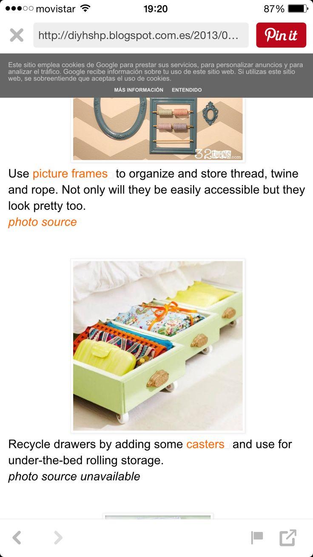 Las 25 mejores ideas sobre cajones bajo cama en pinterest for Cajones bajo cama