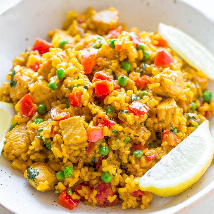 La ricetta per il cookeo della paella . Veramente velocissima da fare impiega solo 15 minuti di cottura . Buona Ricetta!