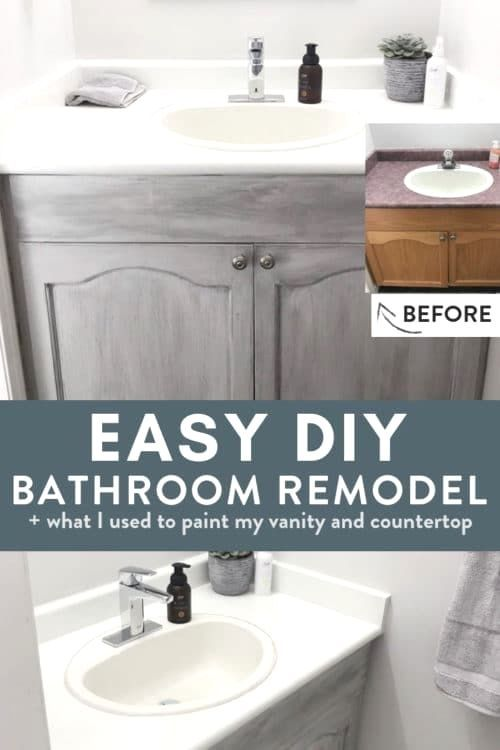 Diy Bathroom Countertop Ideas Countertops Diy Bathroom Remodel