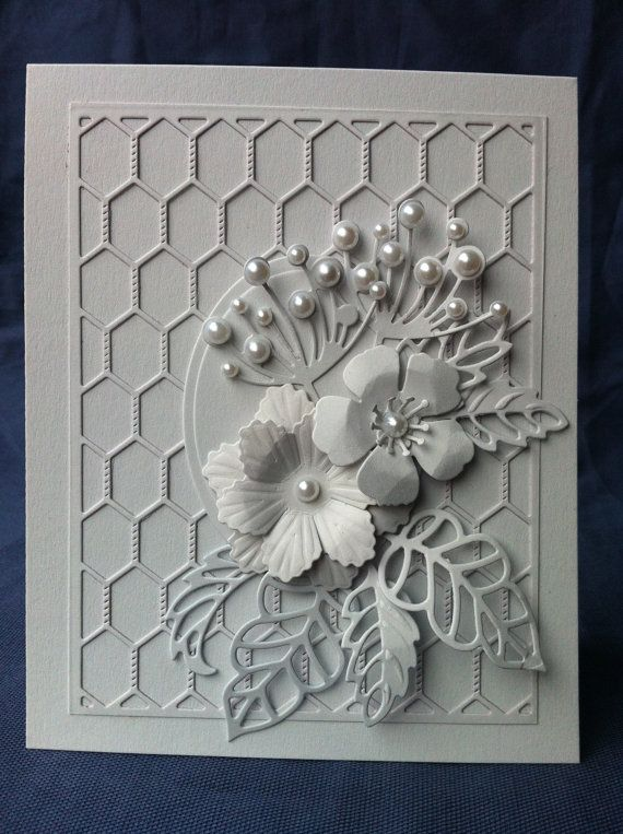 White on white. Memory Box and Cheery Lynn dies