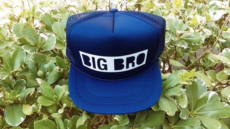 BIG BRO Snapback Hat   Toddler Trucker Hat   Big Brother Hat   Baby Snapback   Kids Trucker Hat   Big Brother Hat   Boys Trucker Hat