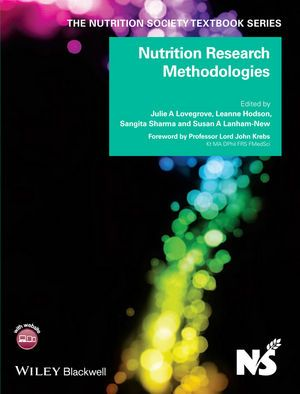 This book addresses the rapidly advancing field of nutrition research. It covers the diverse methodologies required for robust nutritional research to ensure thorough understanding of key concepts, both for students at undergraduate and postgraduate levels and for scientists working in nutrition research.