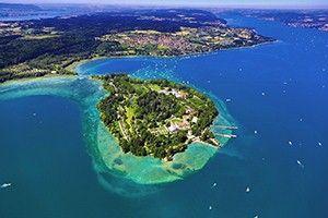 Lake Constance with Mainau Island, Monastic Island of Reichenau (UNESCO World Heritage), Lindau, prehistoric pile dwellings, Meersburg Castl...