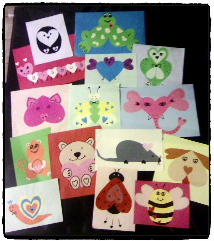 14 best images about coeurs on pinterest animaux cas and collage - Pinterest bricolage st valentin ...