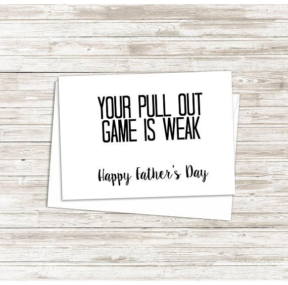 Give this Funny Fathers Day Card to your man this year and make him laugh! https://www.etsy.com/listing/526683715/first-fathers-day-card-funny-fathers-day