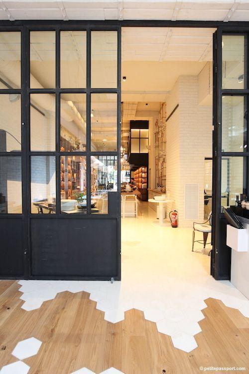 Ideas para suelos, combina madera y cerámica - Dimeic                                                                                                                                                                                 Más