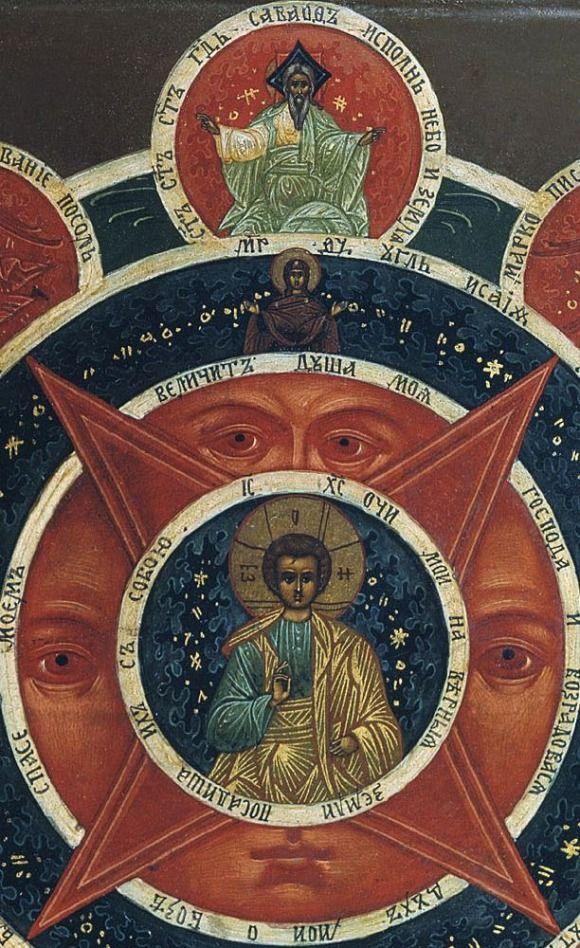 Всевидящее око как иконописный символ (The all-seeing eye as the iconic symbol)