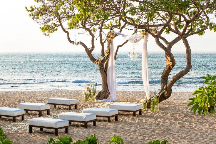 Vintage Beach Wedding Ceremony: 40 Best Kumukea Beach, Four Seasons Resort Hualalai Images