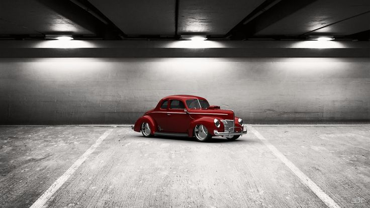 Checkout my tuning #Ford #DeLuxeCoupe 1940 at 3DTuning #3dtuning #tuning