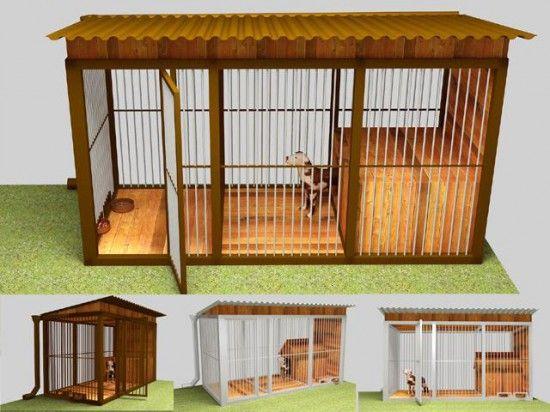 Домашние вольеры для собак - просто и недорого