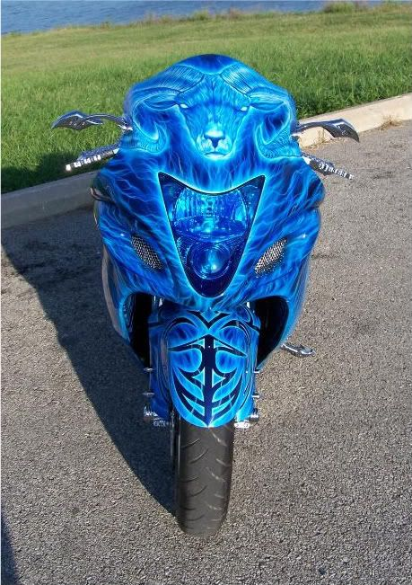Custom Hayabusa Paint Job~