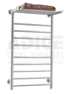 Picture of 530/900mm FLAT Stainless Steel Electric Towel Rail http://www.towelradiator.co.uk/530-900mm-flat-stainless-steel-electric-towel-rail  £ 120