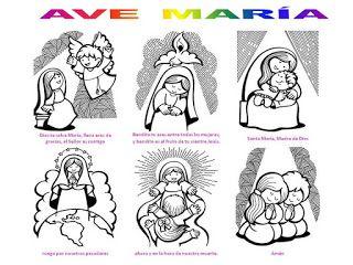 """Taller: """"JUGANDO ME ACERCO A MARÍA"""": ORACIONES: Acto de contrición, Credo, Padrenuestro, Ave María y Gloria."""
