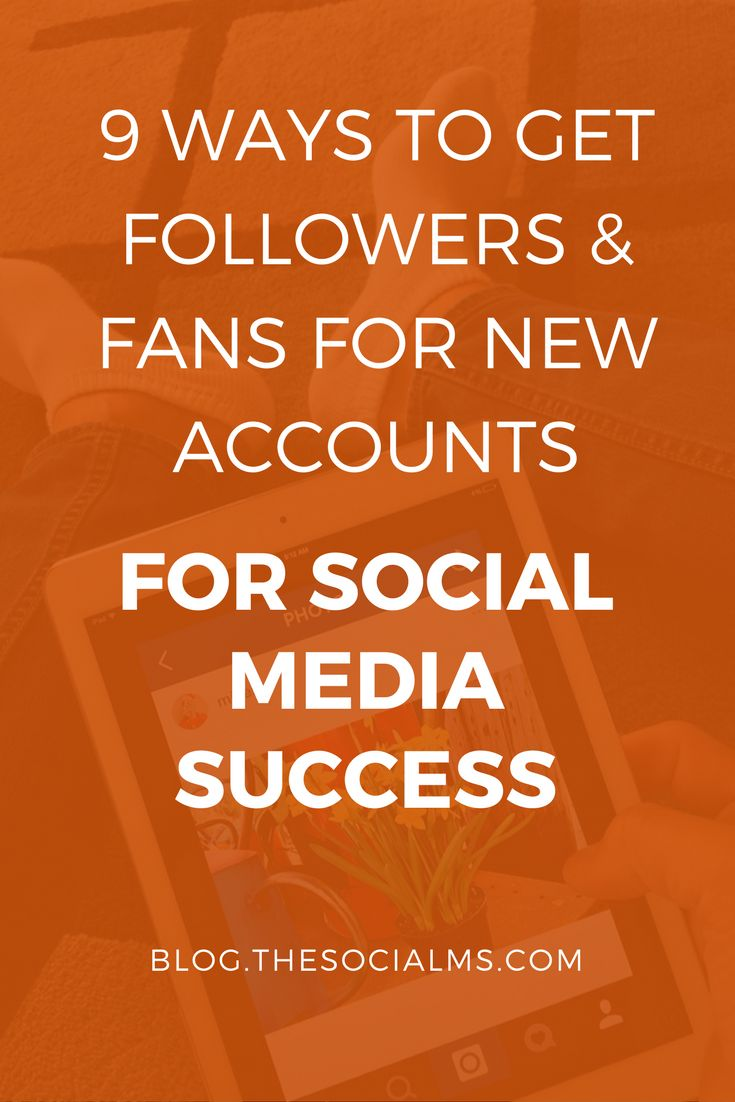 In social media marketing it can be difficult to get followers, and the first followers for a new account are the hardest followers to get.
