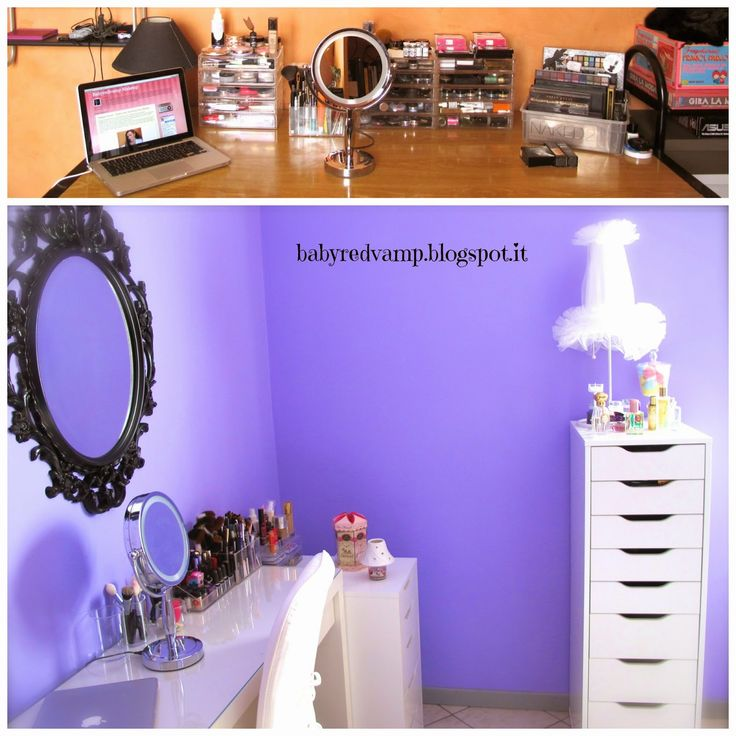 Babyredvamp Makeup: Extreme Makeover -  Makeup Room Edition