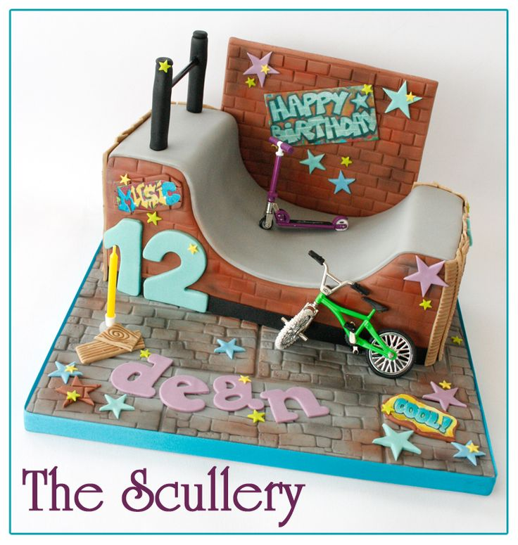 scooter cake - Google Search