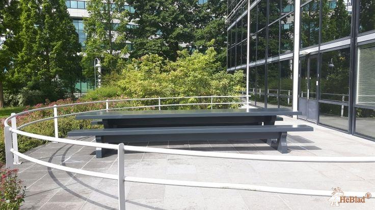 Picknickset Standaard Antraciet XL bij Takeda Nederland BV in Hoofddorp