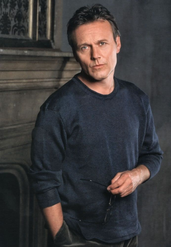 Anthony Head - I didn't really watch Buffy, but when I did, it wasn't for the girl slayer, her scooby gang or angels/demons, know what I mean?