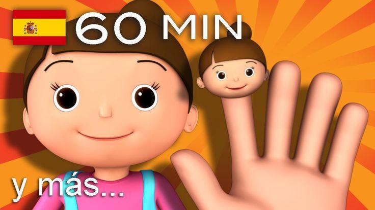 La familia dedo | Y muchas más canciones infantiles | ¡60 min de LittleB...