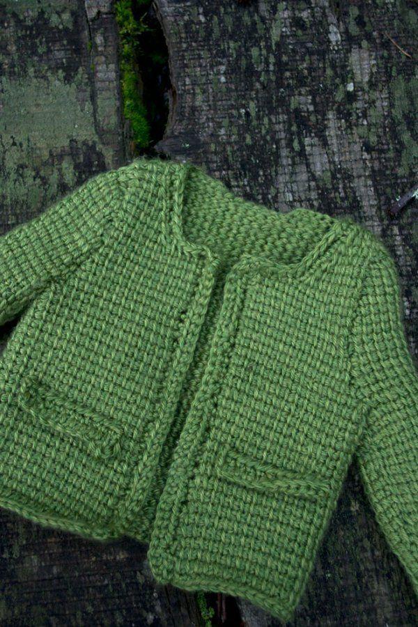 Baby sweater tunisian crochet pattern. CROCHET BABY ...