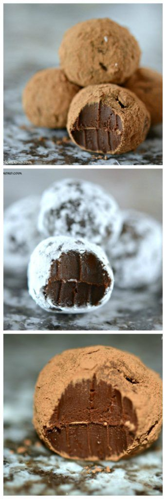 Chocolate Truffles - Hugs and Cookies XOXO