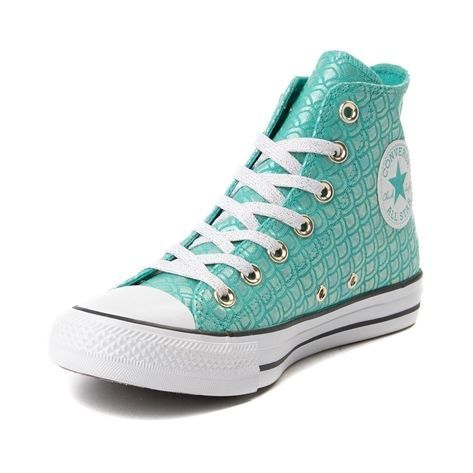 Converse Chuck Taylor All Star Hi Mermaid Sneaker - blue - 399568 b31cd385a