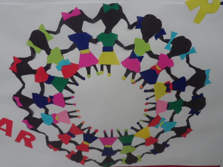 Detalhe Painel Dia das Crianças - Ana Dias - Escola Experimental