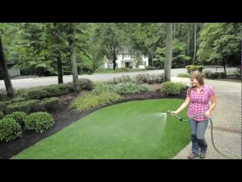 """For the """"Do-It-Yourself'er"""" in you, SYNLawn artificial grass is a 'breeze' to install and maintain. Follow our easy, recommended installation, care and maintenance instructions for a lush, beautiful lawn that will last for years to come."""