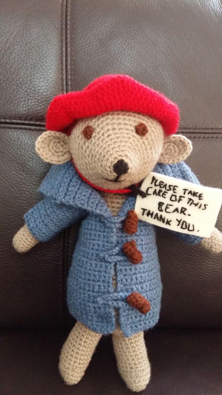 Paddington Bear. Really enjoyed making him.