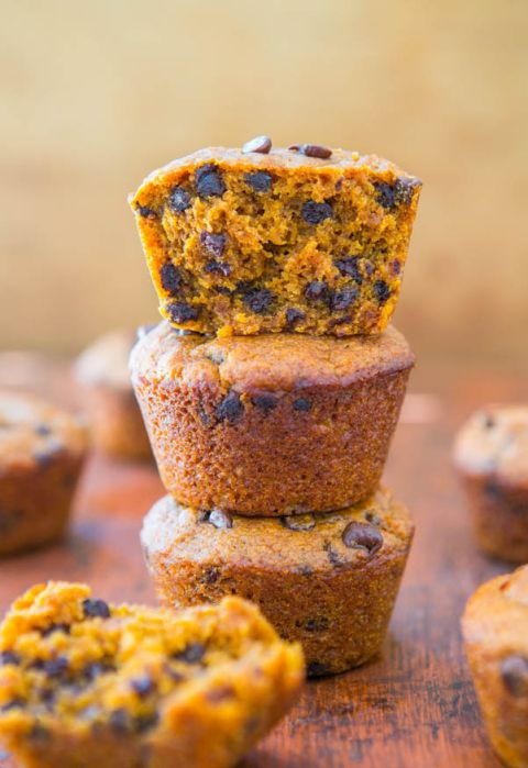 air jordan shoe Vegan Chocolate Chip Pumpkin Muffins   Easy Recipe at averiecooks com