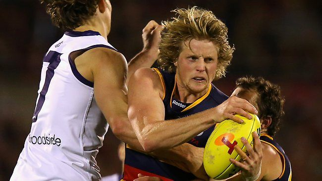 Adelaide midfielder Rory Sloane says the Crows have the belief they can beat Hawthorn... (Michelangelo Rucci for The Advertiser).