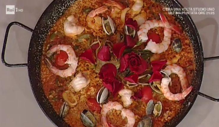 La prova del cuoco   Ricetta paella de los enamorados di David Povedilla