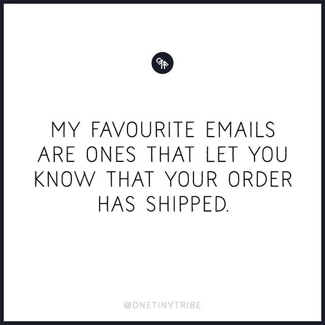 All orders are on their way.  Stalk your posties in the coming week ✌️
