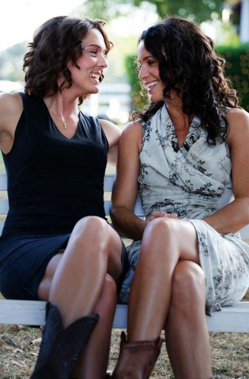 Brandi Carlile awesome rock chick's wedding photograph...